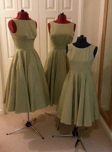 Croft Mill 1950s style dress