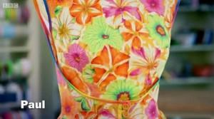 Great British Sewing Bee Walkaway Dress Challenge - Pauls Dress