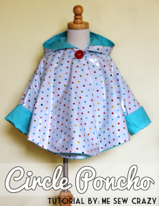how to sew a childs rain coat waterproof fabric