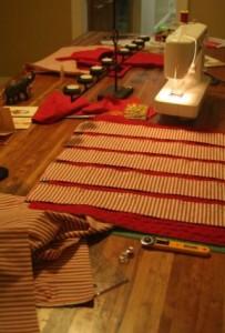 make a fabric advent calender croft mill