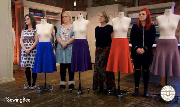 Sewing Bee Semi Final 2016