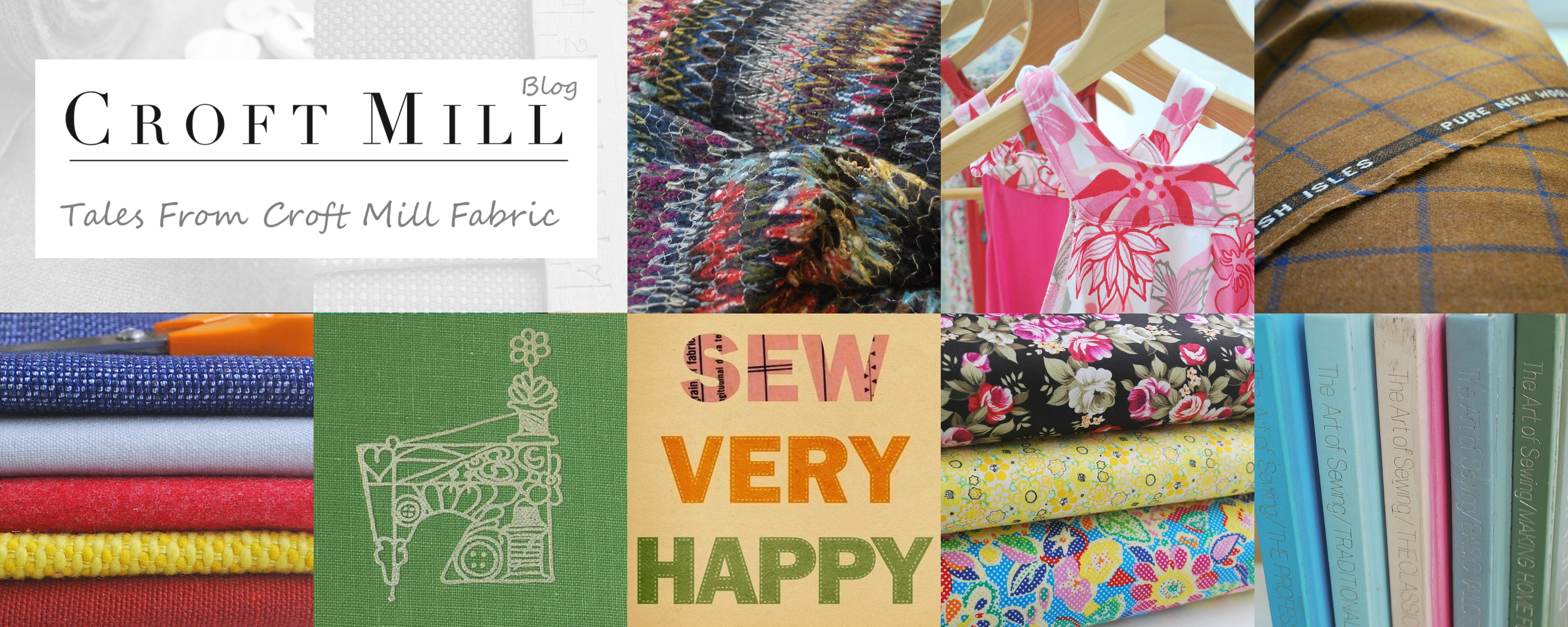 Get Craftii with the Croft Mill Fabrics Blog